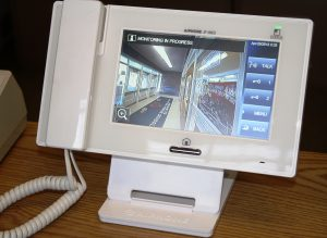 photo of monitor system