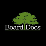 Board doc logo with green tree and black background